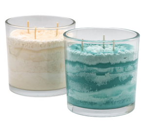 Coastal Mountain Mist Scented Candle in Vibrant and Natural Colors