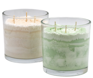 English Herb Garden Scented Candle in Vibrant and Natural Colors