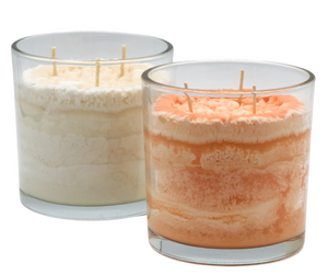 Fruit Fusion Scented Candle in Vibrant and Natural Colors