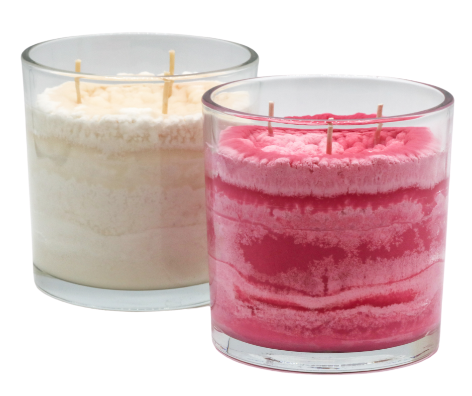 Weekend Rendezvous Scented Candle in Vibrant and Natural Colors