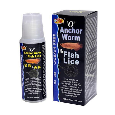 Anchor Worm & Fish Lice - 125 Ml