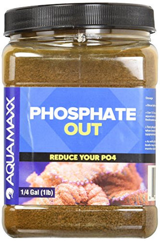 Aquamaxx Gfo Phosphate Out Granular Ferrous Oxide Filter Media - 1 Quart