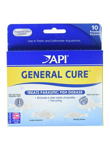 Api General Cure 10 Powder Packets