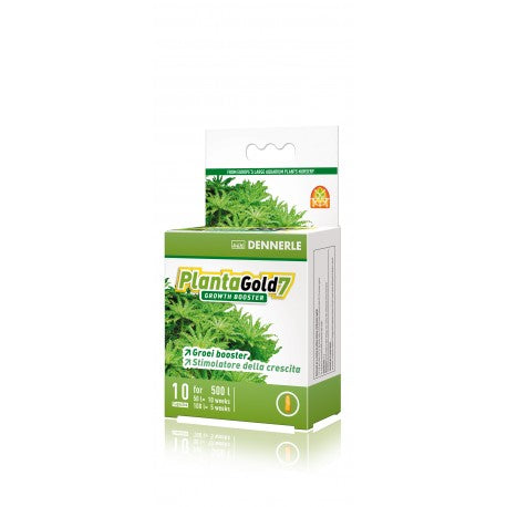 Plant Gold 7 Growth Booster 10 Capsule For 500 L