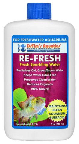 Re-Fresh Natural Sparkling Water Conditioner (8 Oz) - Freshwater