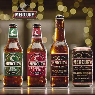 Mercury Cider - Sweet, Dry, and Hard