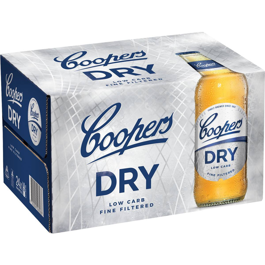 Coopers Dry 375ml 24pk bottles