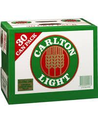 Carlton Light 375ml Cans 30pk