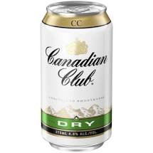 Canadian Club & Dry 375ml Can