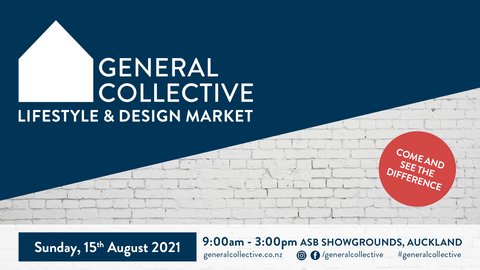 General Collective Lifestyle & Design Market | Sunday 15 August 2021