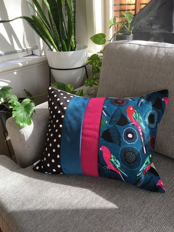 Gerty Brown cushions