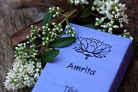 Burning Time 1& a half- 2 hours Comes in 12 different Fragrances. Incense sticks, no smokey residue. Amrita comes in a blue carton of 20 sticks of India Incense from Mother's fragrance