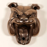 Beer Buddy Bulldog Bronze wall mounted Beer bottle opener. Can be used in inside and out
