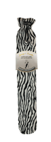 Long Hot Water Bottle Zebra stripes