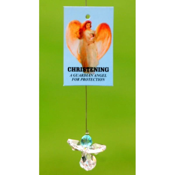 Crystal Angel Christening Boy