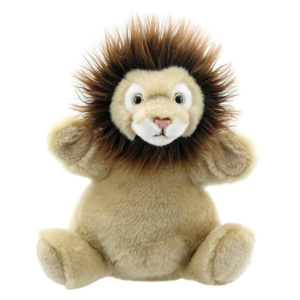 Cuddly tums lion cub hand puppet