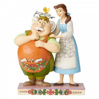 Disney Belle and Maurice Daughter Figurines  from the  movie Beauty and the Beast