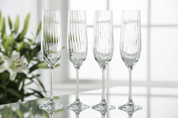 erne champagne flutes tall glasses wedding engagement gift birthday house warmimg celebrating New Year Christmas