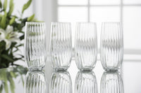Galway Crystal Erne Hi-Ball Glasses