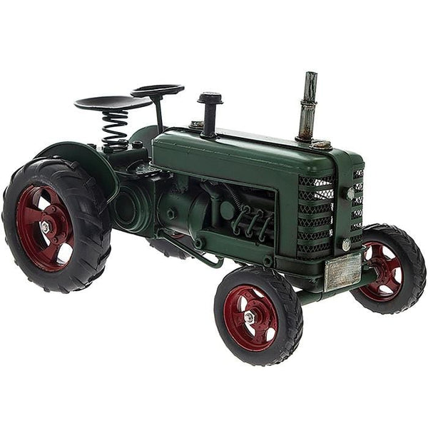 Green Metal Tractor Farmer Fathers day For him Mens Gift old Carousel gifts Naas Co. Kildare