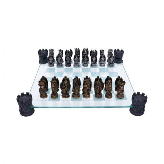 full size kingdom of the dragon chess set