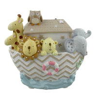 Noah's Ark money box comes in neutral colours