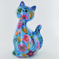 Caramel the cat money box assorted colours