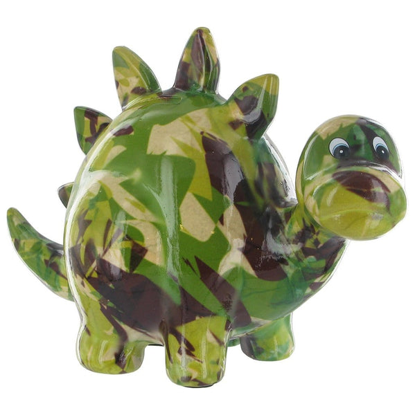 colourful zorc dino money box