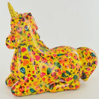 colourful annabel the unicorn moneybox