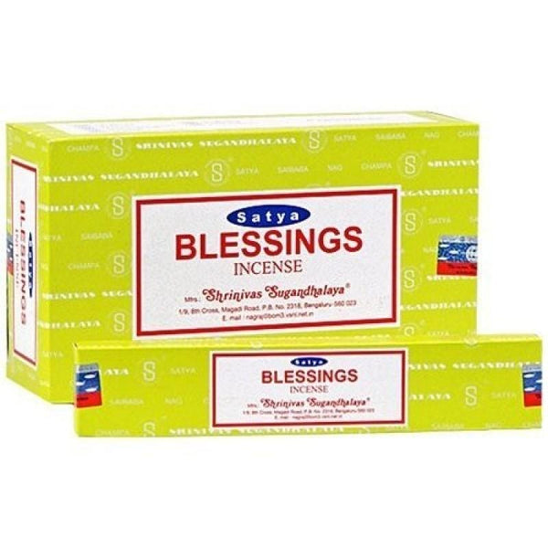 Satya Blessing Nag Champa Incense Sticks