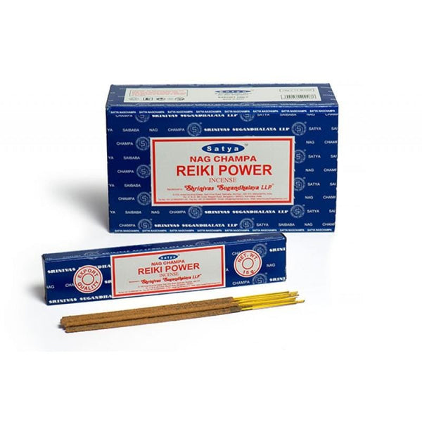 Satya Nag Champa Reiki Power Incense Sticks