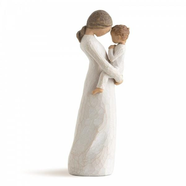 Willow Tree tenderness Figurine of a mother or godmother holding a small child