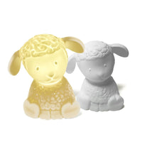 Ceramic Lamp baby sheep