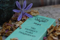Burning Time 1& a half- 2 hours Comes in 12 different Fragrances. Incense sticks, no smokey residue. Yoga comes in a blue carton of 20 sticks of India Incense from Mother's fragrance