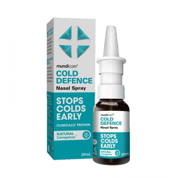 MUNDICARE Adult Cold Defence Nasal Spray 20mL