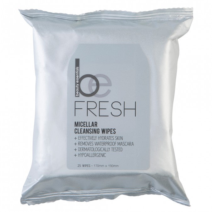 BEAUTY ESSENTIALS Micellar Cleansing Wipes 25 Wipes