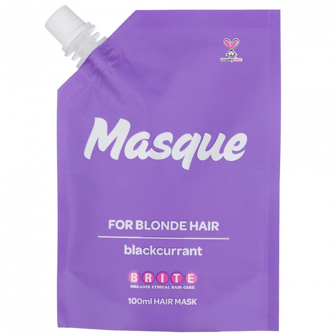 BRITE ORGANIX Organix Masque For Blonde Hair - Blackcurrant 100mL