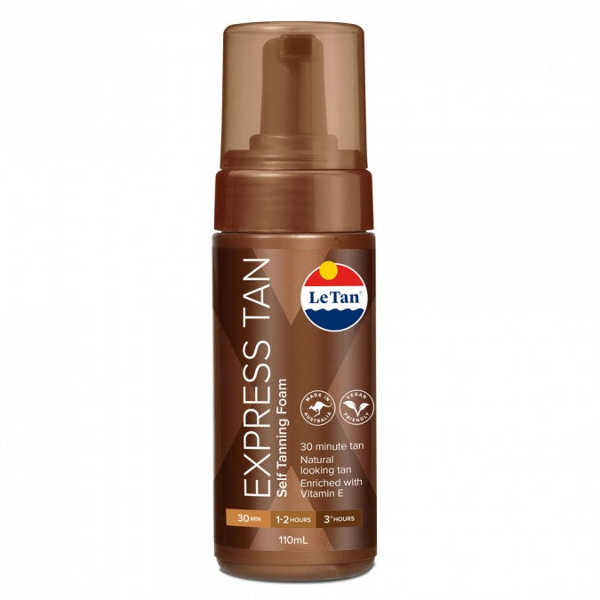 LE TAN Express Tan Self Tanning Foam 110mL