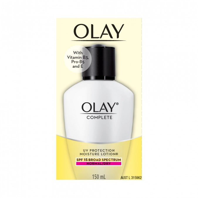 OLAY Complete UV Protection Moisture Lotion SPF15 Normal/Dry 150mL