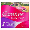 CAREFREE Barely There Liners Shower Fresh 42 Pack