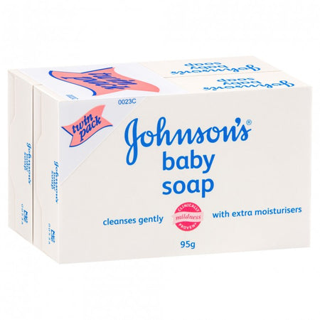 JOHNSON'SÊBaby Soap Twin Pack 2x90g