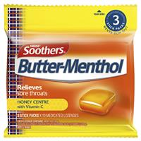 ALLEN'S Butter-Menthol Honey Multipack 3x10 Lozenges