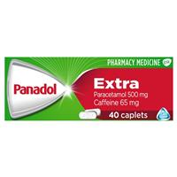 PANADOL Extra Optizorb 40 Caplets - Best Buy Pharmacy