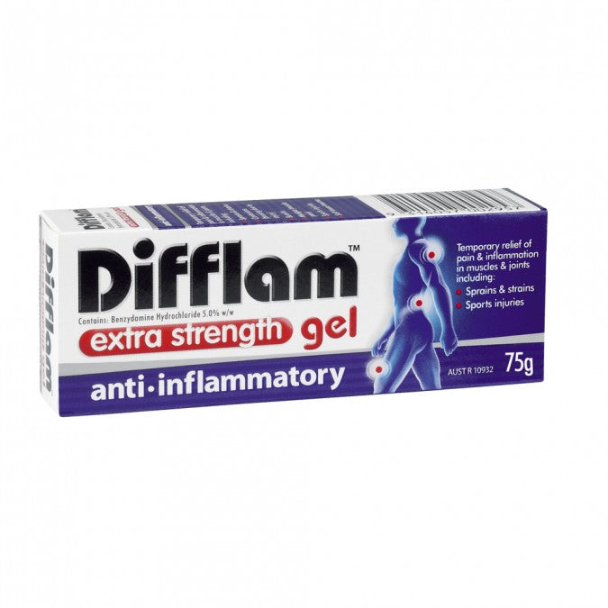 DIFFLAM Extra Strength Anti-Inflammatory Gel 5% 75g