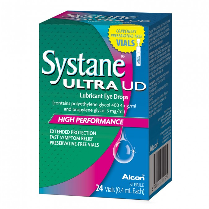 SYSTANE Ultra Unit Dose Lubricant Eye Drops 24 Pack