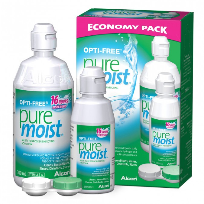 OPTI-FREE PureMoist Economy Pack 390mL