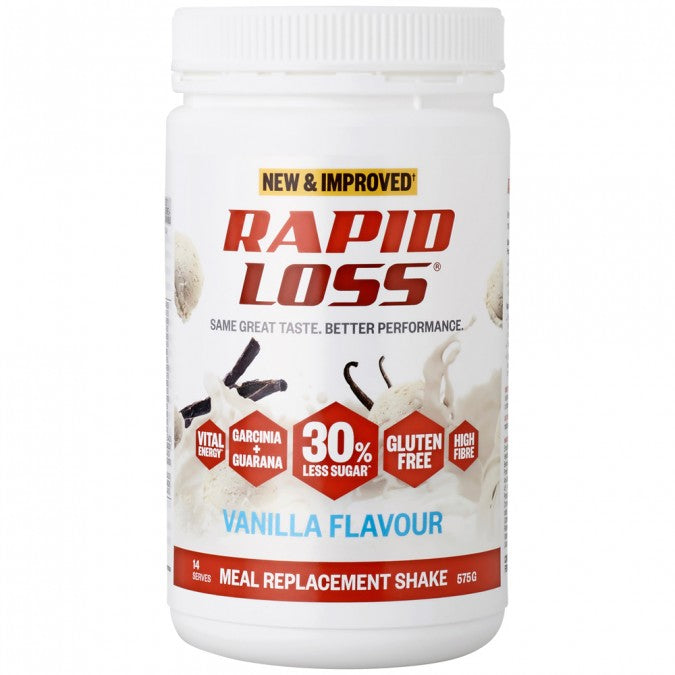 RAPID LOSS Meal Replacement Shake - Vanilla Flavour 575g