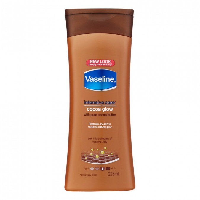VASELINE Intensive Care Body Lotion Cocoa Glow 225mL