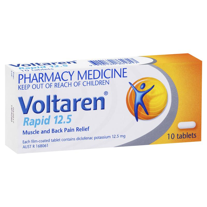 VOLTAREN Rapid 12.5mg 10 Tablets