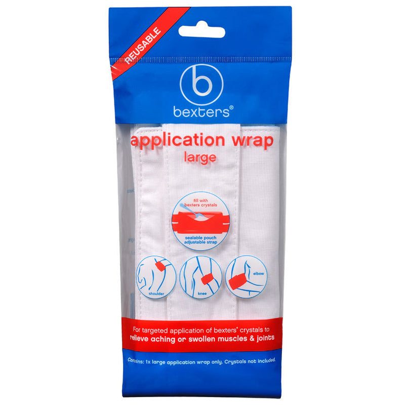 BEXTERS Soda Crystals Application Wrap - Large